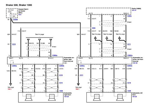 2005 mustang wiring diagram 05 mustang service manual