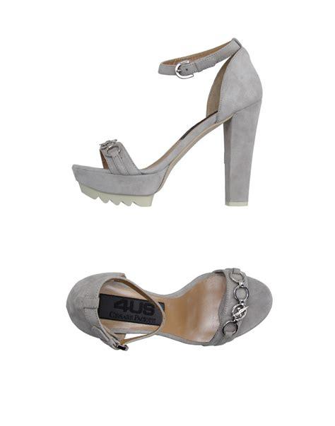 Soft Iphone 4 Solid Dove cesare paciotti sandals in gray dove grey lyst