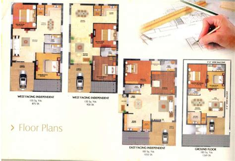 Garage Apartment Floor Plans Madhuri Builders Madhuri Vintage Homes Floor Plan