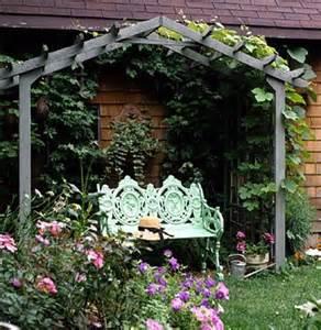 Easy Garden Arbor Simple Garden Arbor