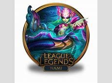 Nami River Spirit Icon | League Of Legends Gold Border ... Ico