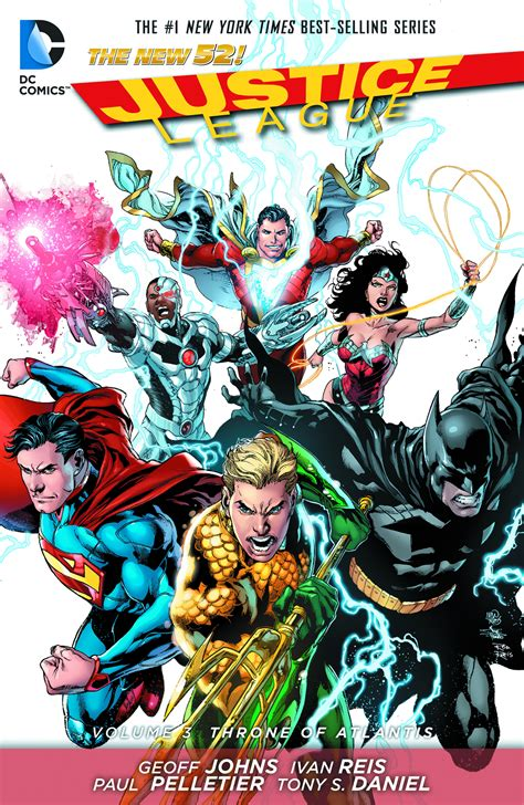 justice league hc vol 1401263410 may130218 justice league hc vol 03 throne of atlantis previews world