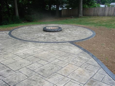 Concrete Firepit Outdoor Pit Made With Concrete Sted Ohio Concrete