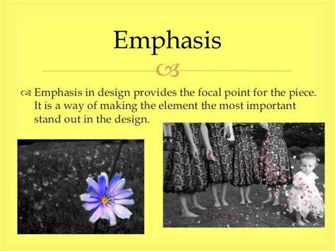 design elements radiate from a center point visual composition slideshow darlene dechambre