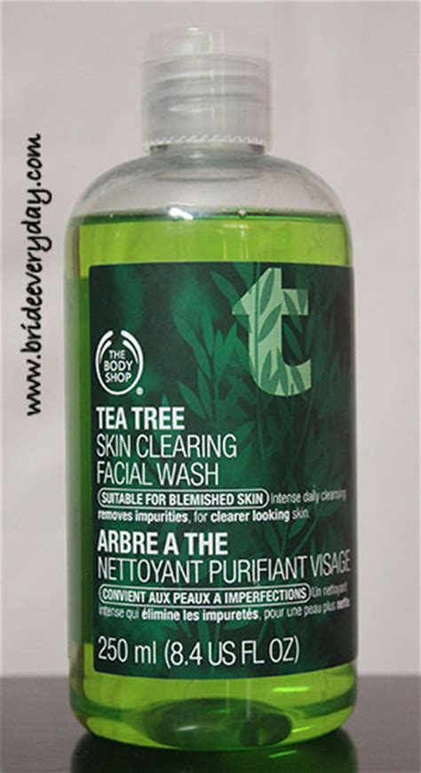 The Shop Wash the shop tea tree skin clearing wash review