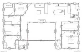 plan plain pied 3 chambres gratuit