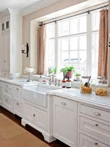 Kitchen Window Design Ideas by Modern Furniture 2013 White Kitchen Decorating Ideas From Bhg
