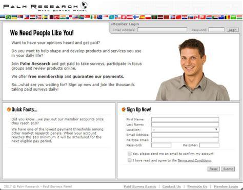 Can You Really Make Money Doing Surveys Online - can you really make money with the palm research survey website