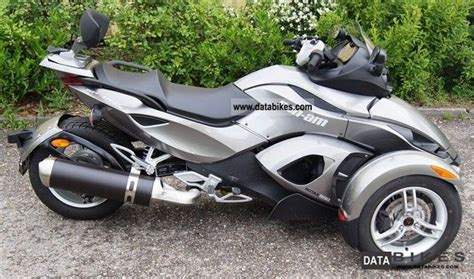 2012 bombardier can am spyder roadster sm5 rs