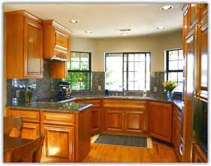 Kitchen Remodel Ideas With Oak Cabinets kitchen remodel honey oak cabinets home design ideas