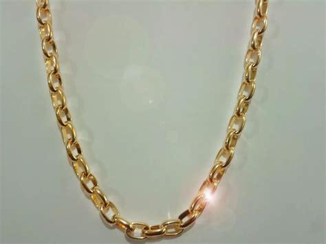 cadenas de oro gratis cadena oro laminado 18k 70cm de largo excelente calidad