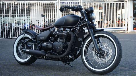 Triumph Motorrad Umbauten by Umgebautes Motorrad Triumph Bonneville Bobber Motorrad
