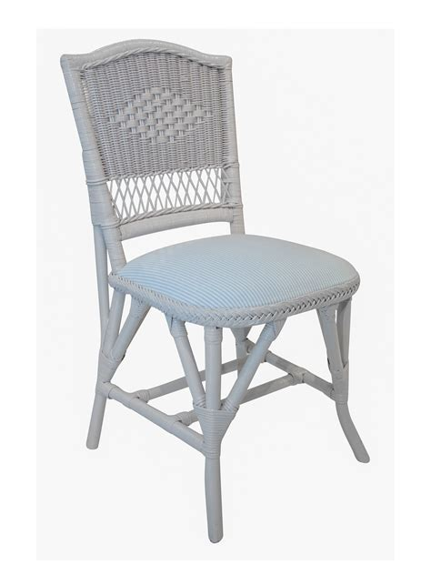 Wicker Bistro Chairs Bistro Wicker Side Chair Cottage Home 174