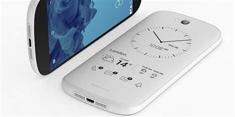e ink display mobile phone this is yotaphone s new white dual screen smartphone