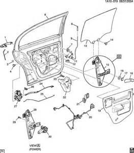 Pontiac G5 Parts Pontiac G5 Door Hardware Rear Part 2