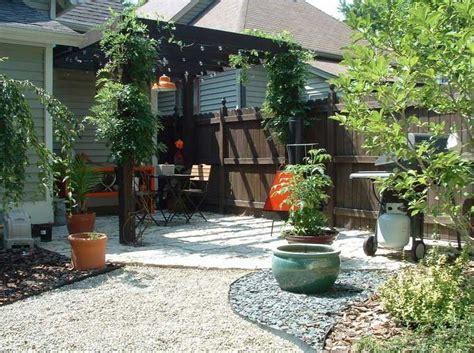 desert garden design ideas makeover backyard with patio pergola design and stained gardening