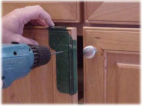 How To Install Cabinet Hardware Install Cabinet Knobs Installing Kitchen Cabinet Doors