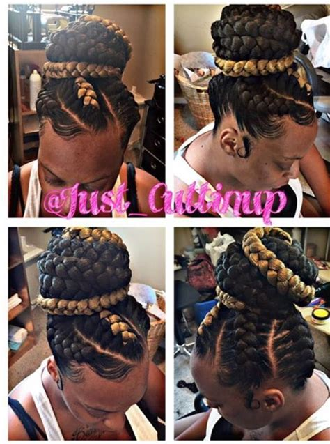 goddess braids large large under braids the enhanced me hair beauty