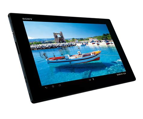 Sony Xperia Tablet Z sony unveils xperia tablet z in japan techdroid