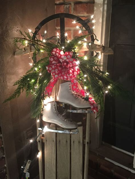 Sled Decoration by 25 Best Ideas About Sled Decor On
