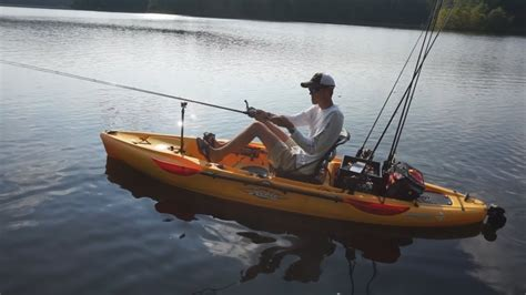 hobie outback review youtube