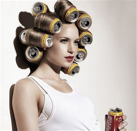 coke in curly hair soda can rollers for luscious wavy locks alldaychic
