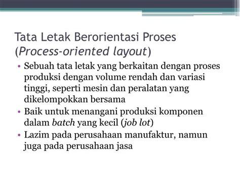 process oriented layout adalah ppt strategi tata letak powerpoint presentation id 2342026