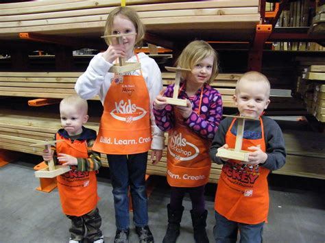 family home depot s workshops family