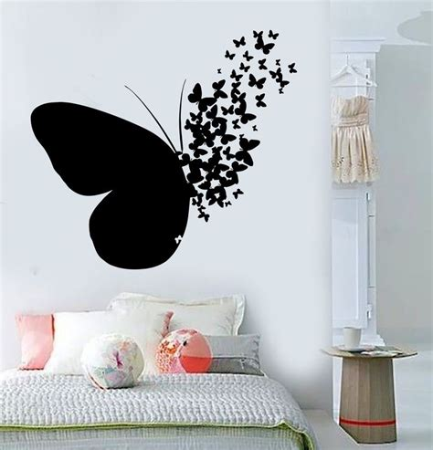 Wall Sticker Quotes For Bedrooms by Best 25 Butterfly Wall Decals Ideas On Pinterest