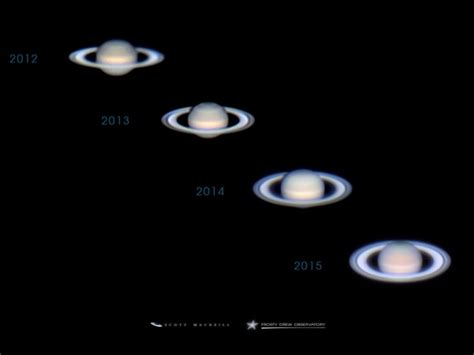 saturns tilt notice the tilt in saturn s rings today s image earthsky