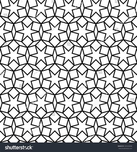 pattern islamic texture seamless geometric pattern vector islamic pattern stock