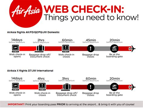 airasia online check in mobile how to check in online and print out boarding pass at home