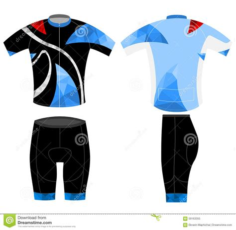 low poly color sports shirt design stock illustration