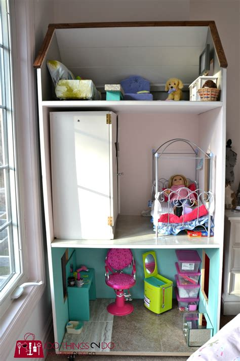 doll house for american girl dolls ana white diy dollhouse for american girl dolls diy projects