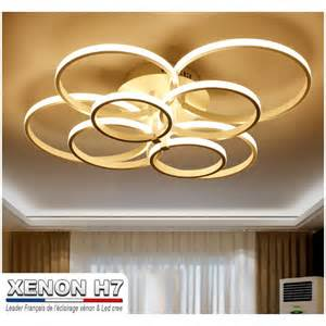 lustre led de salon moderne luminaire d int 233 rieur