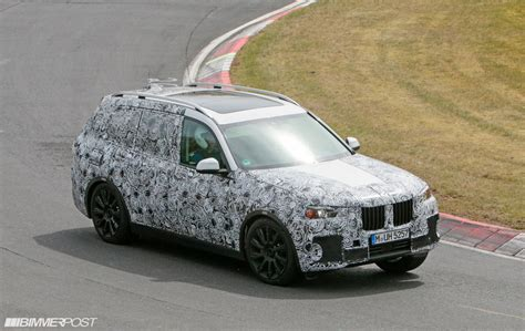 bmw x7 prototype finally emerges photo and