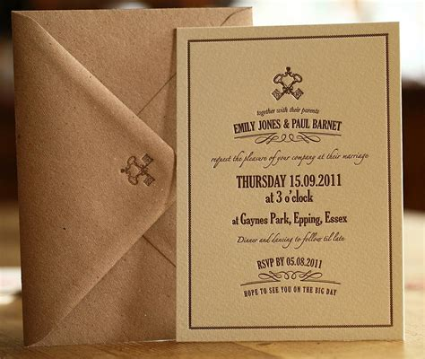 Wedding Invitations Vintage Style by Vintage Style Letterpress Wedding Invitation By Artcadia