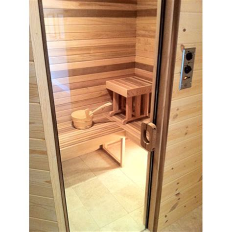 All Glass Sauna And Steam Door Sauna Glass Door