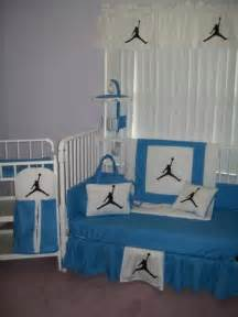 jordan bedroom set michael jordan crib bedding set mobile diaper bag ebay