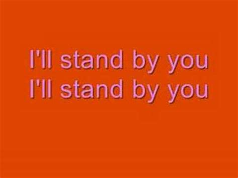 country music lyrics i will stand by you girls aloud i ll stand by you k pop lyrics song