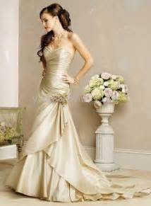 champagne wedding dresses 6