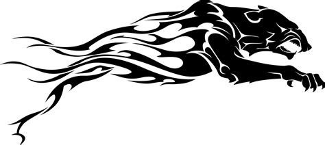 black panther tribal tattoo designs jackal tribal panther