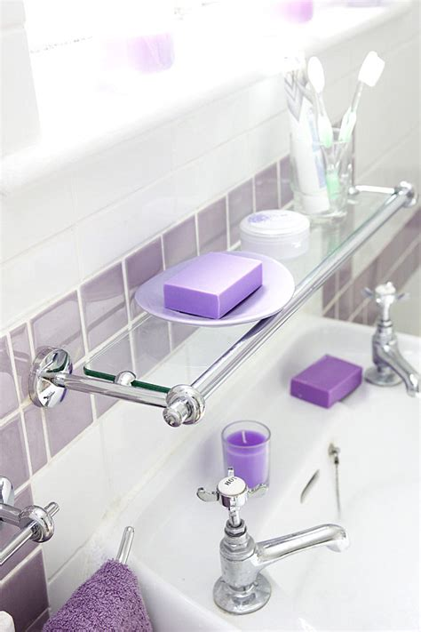 over the sink bathroom shelf glass shelves design ideas home decor pictures
