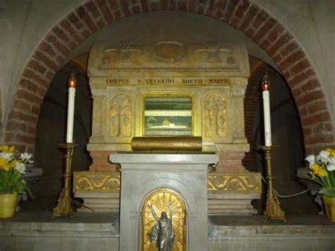 studio boezio pavia omaggio per sant agostino foto di basilica di san