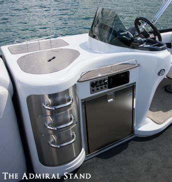 mmm motor boating admiral refreshment center with electric wine rack for