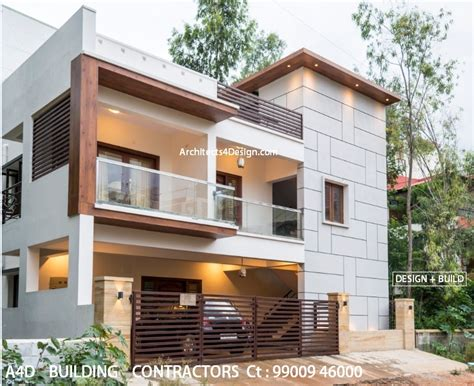 2400 Sq Ft House Plans by Building Contractors In Bangalore Know Current
