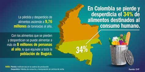 que boten colombianos botan 9 76 millones de toneladas de comida al a 241 o