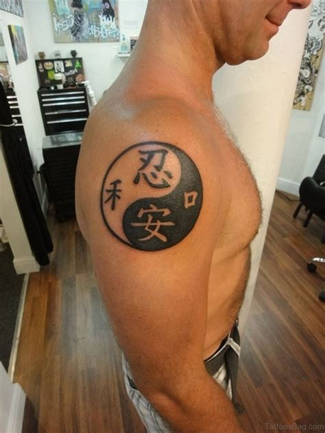 small yin yang tattoos 51 dazzling yin yang tattoos on shoulder
