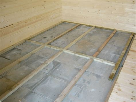 wooden floor pack for log cabins