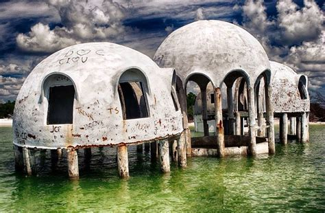 strange abandoned dome houses florida usa strange